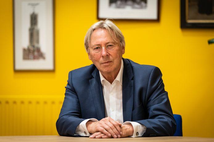 Burgemeester Peter den Oudsten van Utrecht en voorzitter van de Veiligheidsregio Utrecht (VRU).