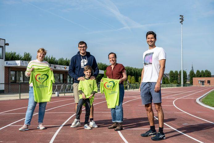 Het G-sportfestival vindt plaats in en rond het sportcentrum in Lebbeke.
