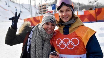 Snowboarder Seppe Smits bibberend naar olympische finale