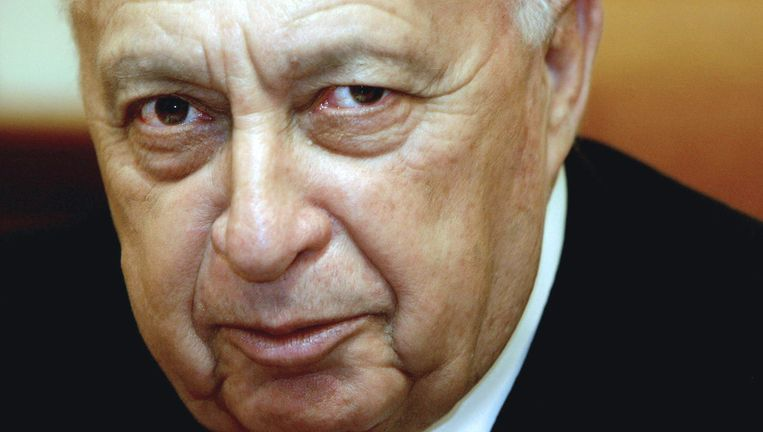 Ariel Sharon. Beeld afp
