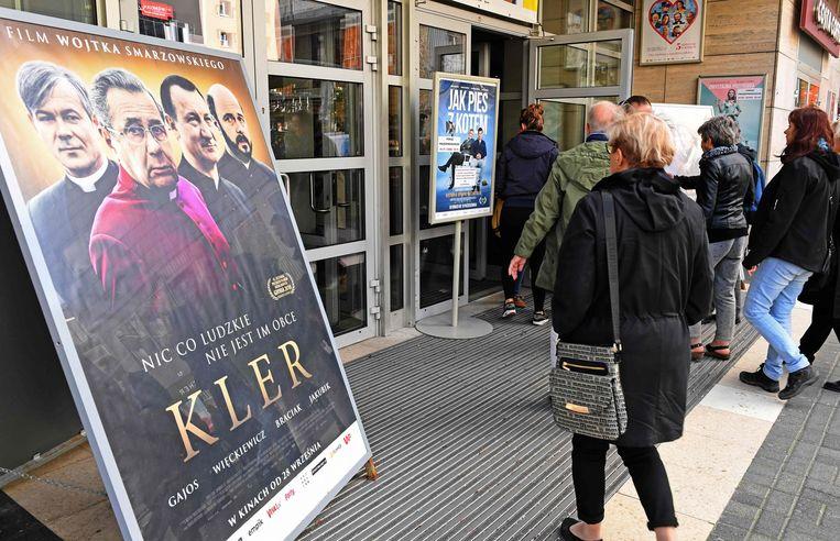 Een bioscoop in Warschau. Beeld AFP