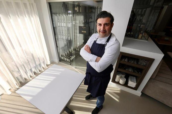 Peppe Giacomazza baat al vijf jaar het Italiaans restaurant La Botte in Genk uit.