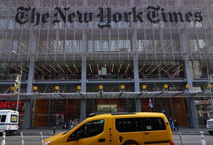 Journalisten van de Amerikaanse krant New York Times hebben het niet zo makkelijk om een perskaart in China te krijgen.