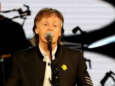 McCartney haalt Ringo en Ron Wood podium op