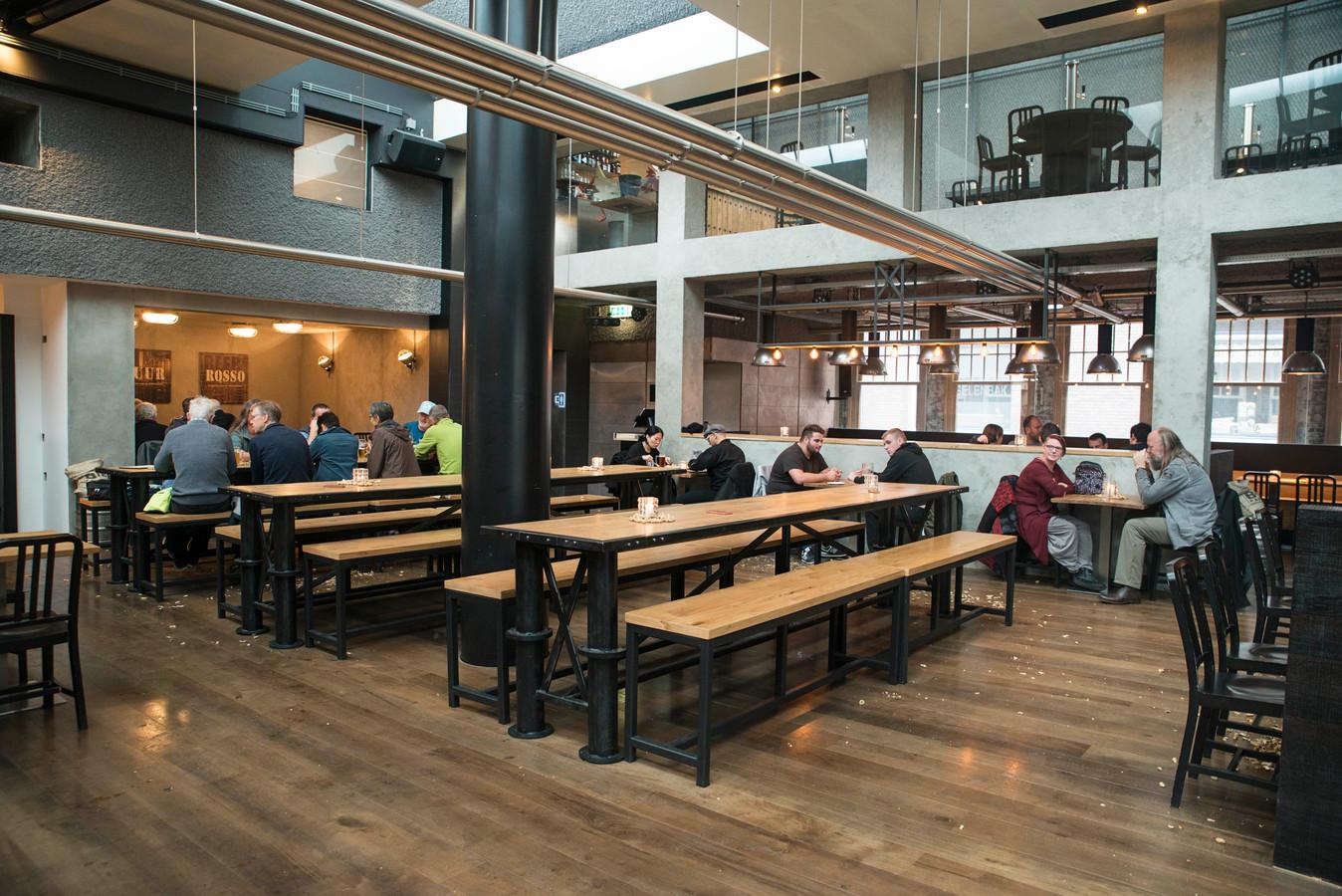 De vestiging van de Bierfabriek in Amsterdam.