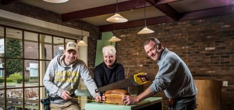 Bakker wordt bouwvakker: hoe Gijs van Olst zijn bakkerij in Wezep eigenhandig verbouwt tot woonhuis