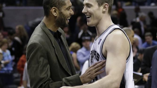 San Antonio Spurs boeken negende zege op rij in NBA