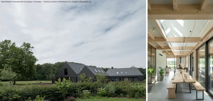sfeerimpressie van de te bouwen woningen aan de Munitiestraat in Neerkant.