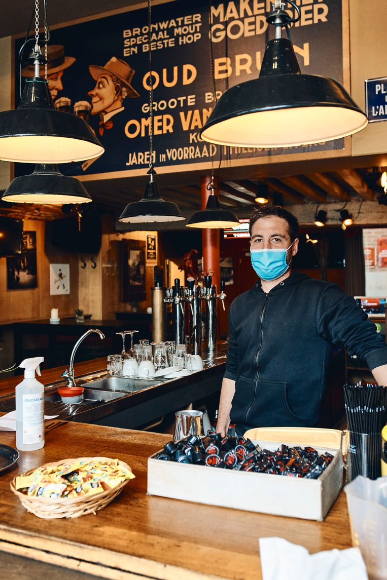 Café 't Geduld, aan het Veerleplein.  Beeld Thomas Nolf