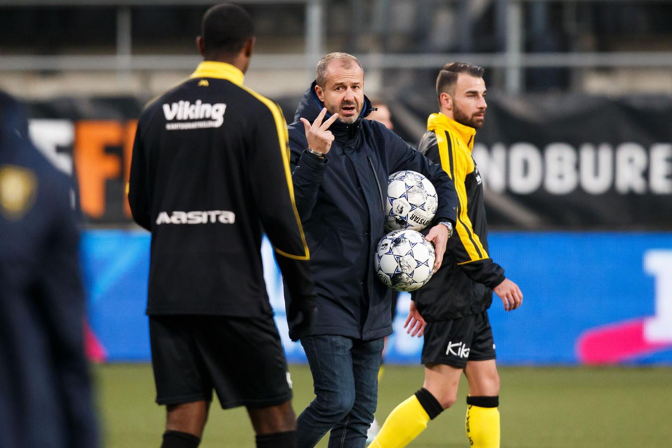 Jay Driessen, interim-coach VVV-Venlo