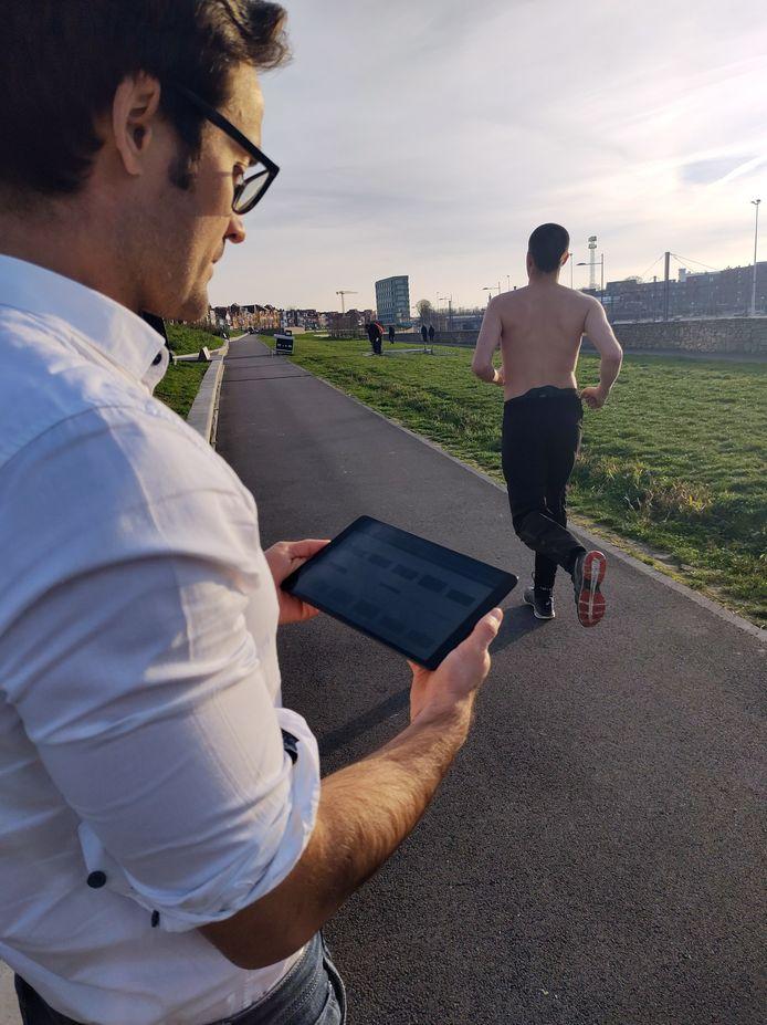 KU Leuven ontwikkelt sportapplicatie RunEASI