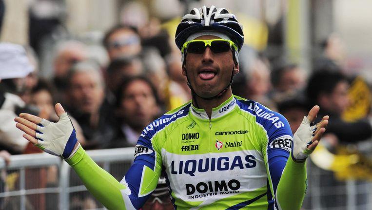 Daniele Bennati zoekt al een volledig seizoen naar de goede vorm en rijdt de Tour niet. Beeld UNKNOWN