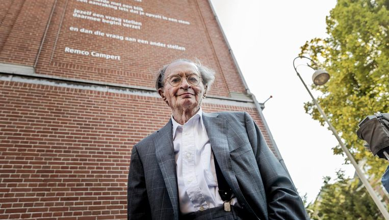 Remco Campert stopt bij Elsevier Beeld anp