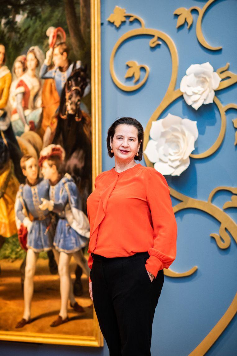 Annabelle Birnie, de directeur van de Hermitage in Amsterdam. Beeld Simon Lenskens
