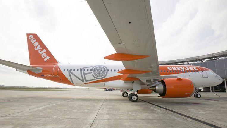 Investeringen zoals in de nieuwe Airbus A320Neo, die 108 miljoen dollar kost, moeten volgens Easyjet op Schiphol wordne beloond Beeld Parool