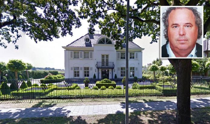 De doodgeschoten Martie Heesbeen woonde in dit landhuis aan de Mazairaclaan Rosmalen.