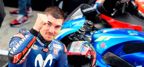 Márquez crasht, Viñales pakt pole in Valencia