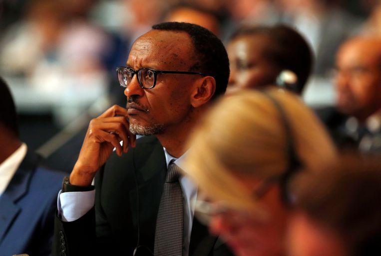 De Rwandese president Paul Kagame. Beeld EPA