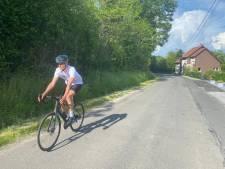 """Il parcourt 1.100 kilomètres à vélo dans les Alpes pour une ASBL: """"C'est mon état d'esprit"""""""