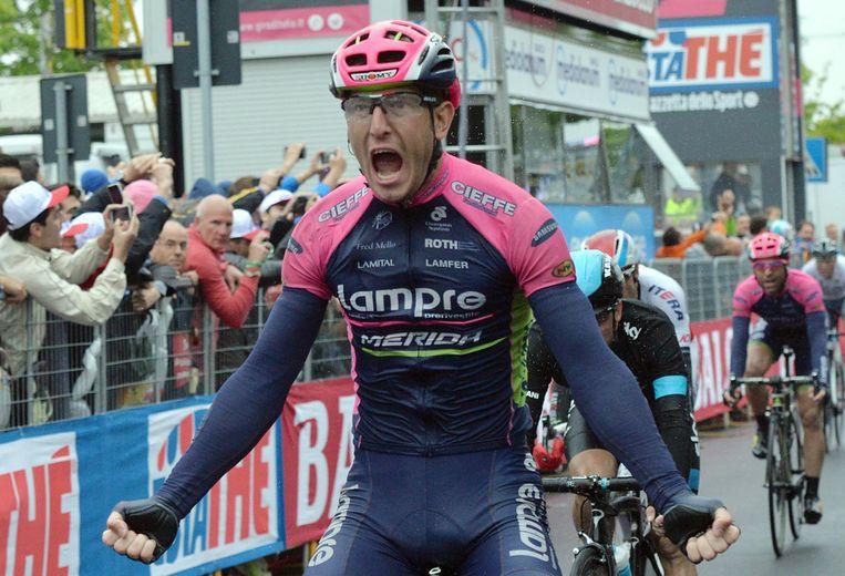 Modolo heeft al twee ritzeges in de Ronde van Italië op zijn teller Beeld AP
