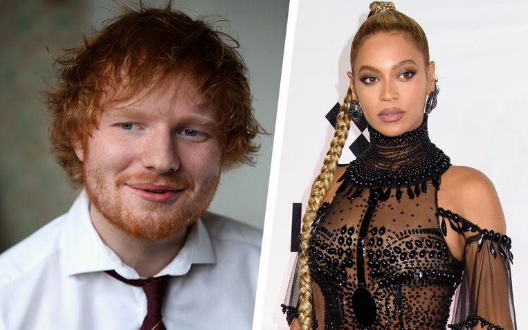 Ed Sheeran wist Beyoncé te strikken voor een duet.