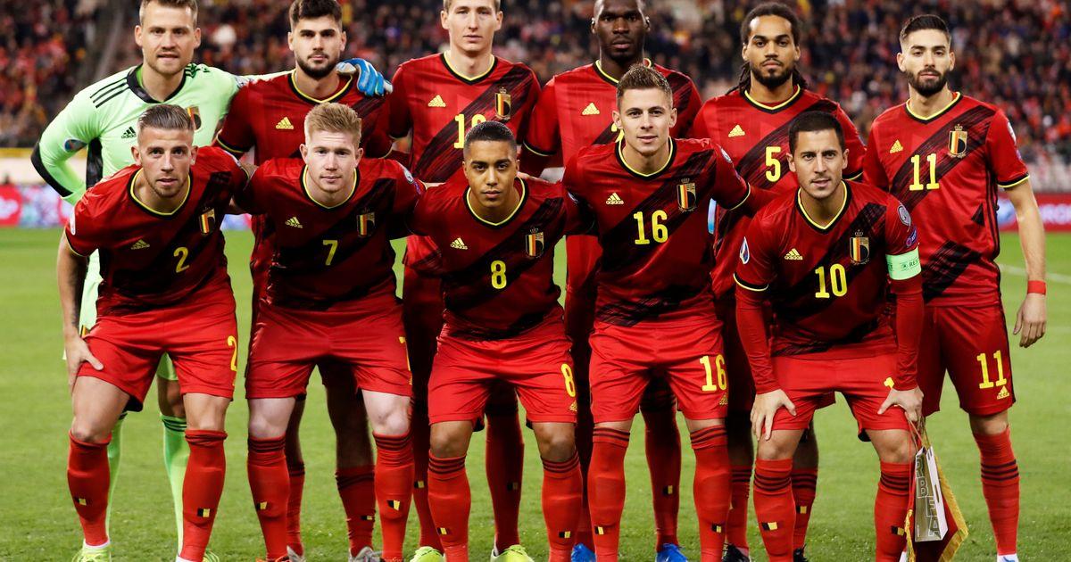 Belgische Nationalmannschaft 2021