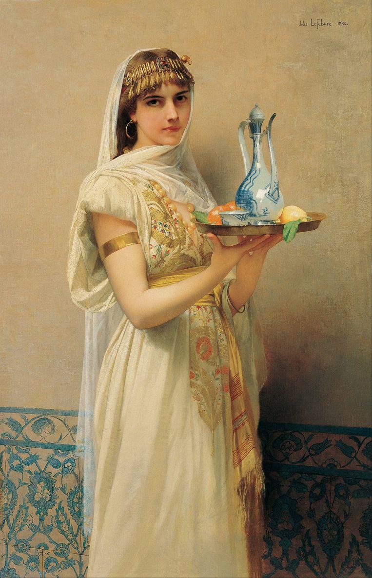 'Bediende, 1880' door Jules Joseph Lefebvre. Beeld Getty Images