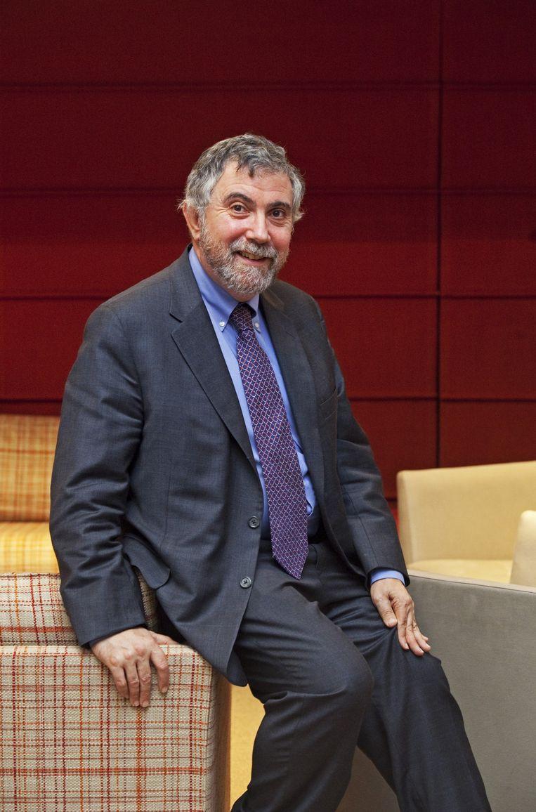 Paul Krugman. Beeld Tim Dirven