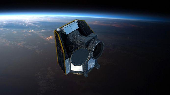 Le télescope CHEOPS.