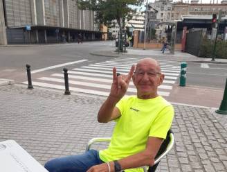 """Oud-voetballer Pierre Geys (72) wandelt vanuit Spanje langs alle voetbalclubs waarvoor hij speelde: """"De mensen verklaarden mij zot"""""""