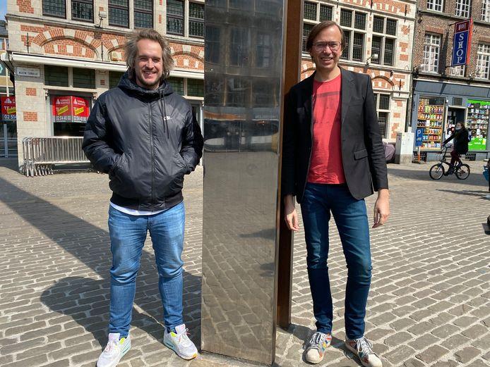 Bart Meyskens en Ben Van Alboom zetten samen hun schouders onder het project, Bart als coördinator, Ben als curator