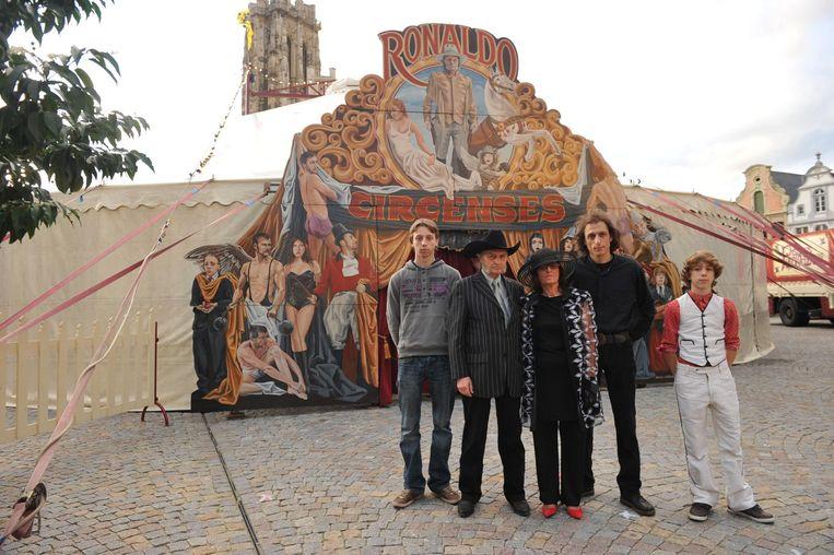 De familie van circuslegende David Ronaldo.