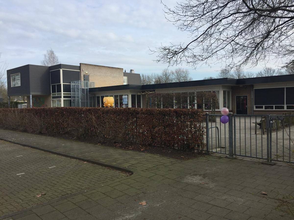Basisschool Berkeloo is de enige van de drie scholen in Berkel-Enschot die geen problemen heeft met ruimte of instroom van leerlingen.