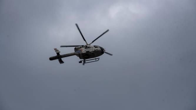Albanees met behulp van helikopter opgepakt op verdenking van twee inbraakpogingen