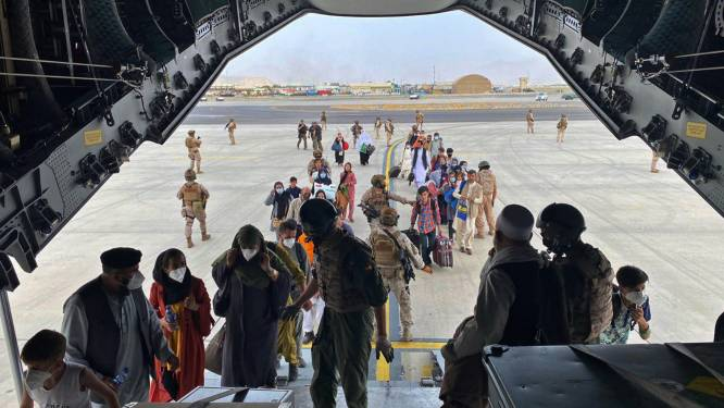 Al 470 mensen op de lijst om te evacueren uit Kaboel