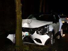 Automobilist knalt tegen boom in buitengebied Sibculo, auto slaat automatisch alarm