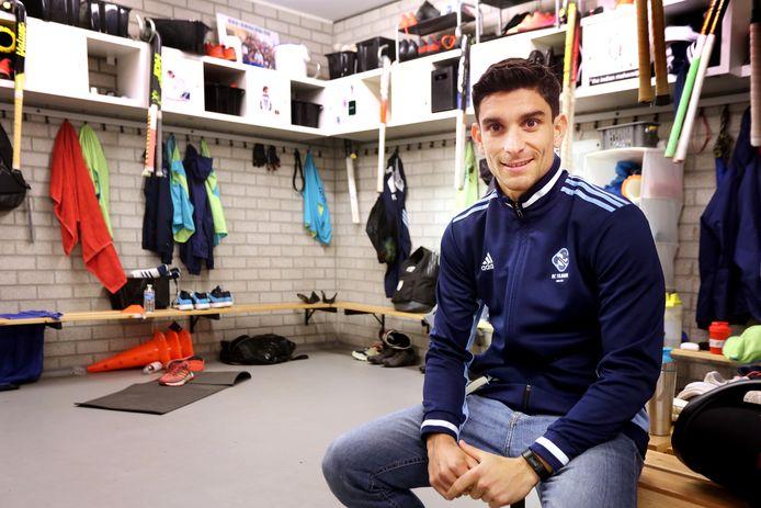 Federico Fernandez Onega blijft bij HC Tilburg.