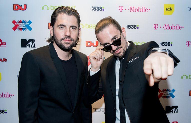 Dimitri Vegas & Like Mike. (Archieffoto) Beeld ANP Kippa