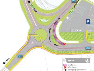 Oprit E40 Aalter en Tieltsesteenweg vanaf zaterdag 1 mei weer open