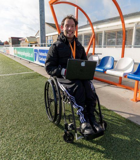 Doorzetter Nick de Heus succesvol met voetbalwebsite: 'Ik zou nooit kunnen praten'