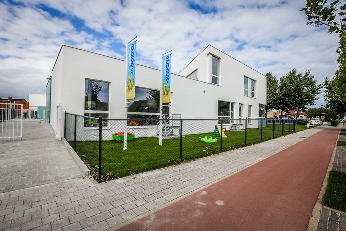 Opening van het gloednieuwe schoolgebouw van De Duinpieper in Westende.