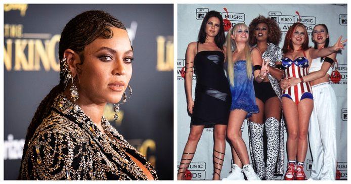 Beyoncé en de Spice Girls
