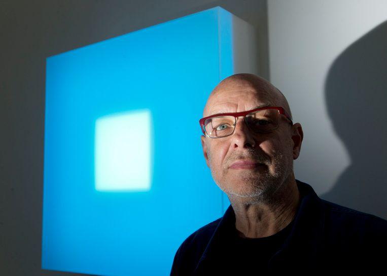 Brian Eno. Beeld Photo News