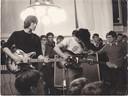 Faghm in 1968 in de stadhuishal van Hengelo met Adri Banis en Jimmy van Bokhoven.