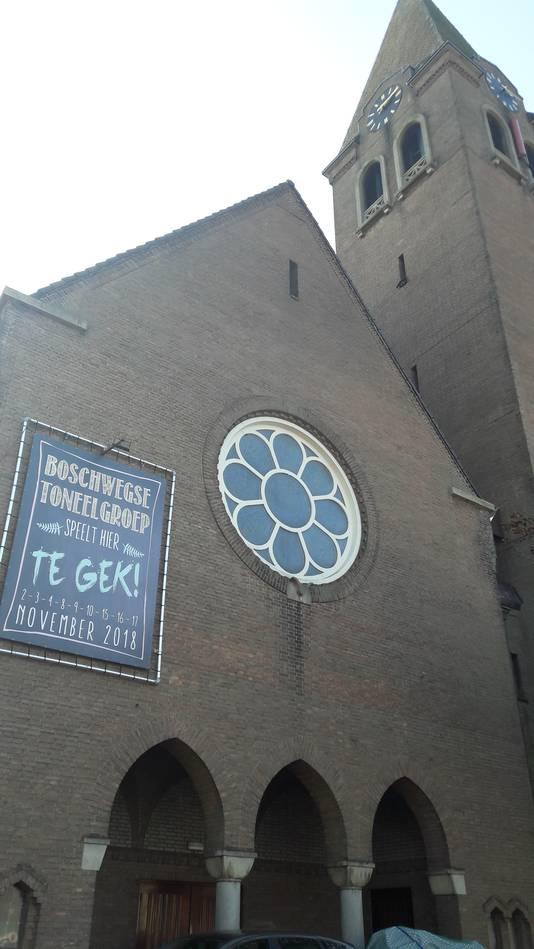 De oude kerk van Boschweg is voor het laatst het decor voor een toneelstuk van de Boschwegse Toneelgroep.