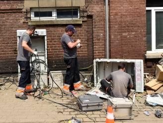 Nog zowat 2.900 gezinnen in Luik zonder stroom door noodweer