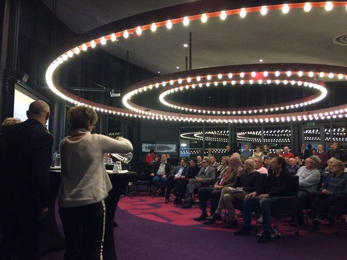 De Boxtelse lijsttrekkers debateerden eerder  in de raadzaal van Boxtel.
