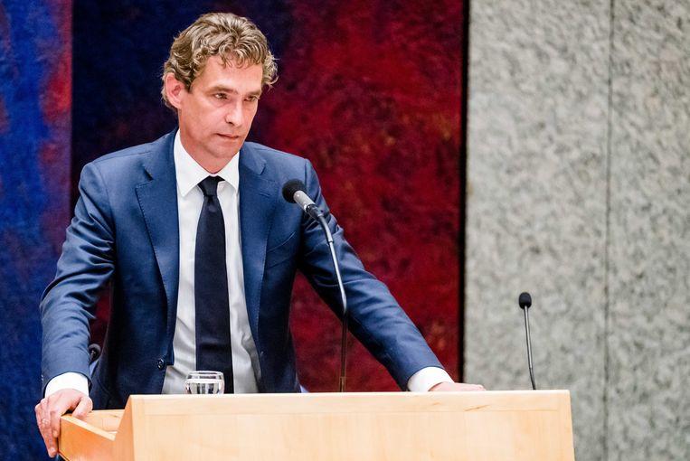 Demissionair minister Bas van 't Wout. Beeld ANP