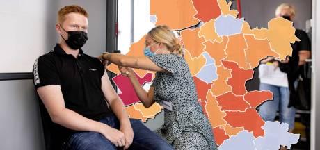 KAART | Eén coronadode in Oost-Nederland, vijf gemeenten zonder positieve tests