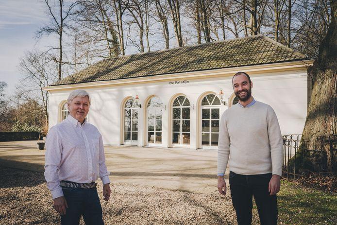 Henk Willemsen (links) en Kees Bouwhof voor De Palatijn.
